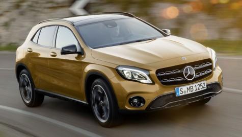Mercedes GLA facelift: Update stilistic și un motor nou