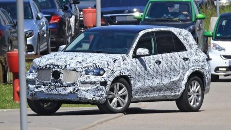 Noul Mercedes GLE sosește în 2018 – PRIMELE IMAGINI
