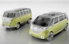 VW I.D. Buzz Concept: Microbus reeditat, 100% electric și autonom