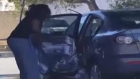A spălat mașina bine de tot! Imagini filmate într-o spălătorie auto