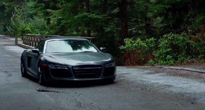Audi R8 Cincizeci de umbre întunecate