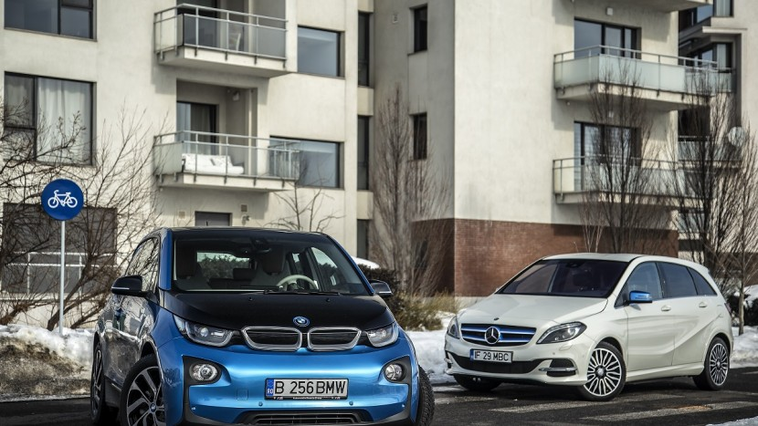 BMW i3 & Mercedes-Benz B-Class Electric Drive