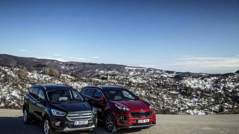 Kia Sportage & Ford Kuga 20