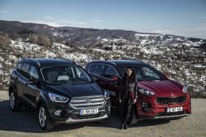 Kia Sportage & Ford Kuga (7)