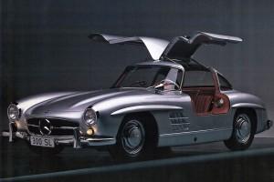 Mercedes 300 SL gullwing portiere