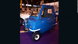 Peel P50 cele mai mici mașini