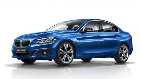 BMW Seria 1 Sedan: Cel mai mic BMW cu patru uși