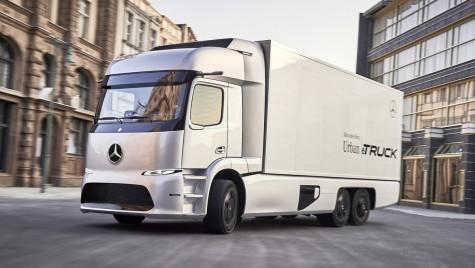 Mercedes lansează primul camion electric de serie