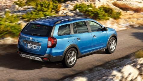 Dacia Logan MCV, acum și în variantă Stepway