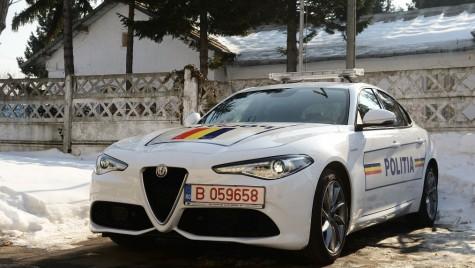 Poliția Rutieră primește o Alfa Romeo Giulia Veloce