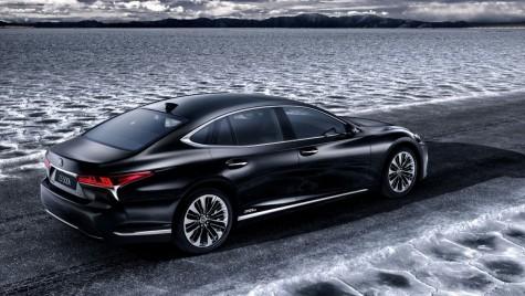 Noul Lexus LS 500h: Lux hibrid la Geneva