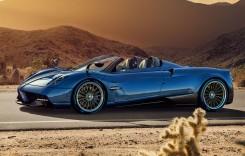 Pagani Huayra Roadster: Mai puternic și mai ușor decât coupe-ul
