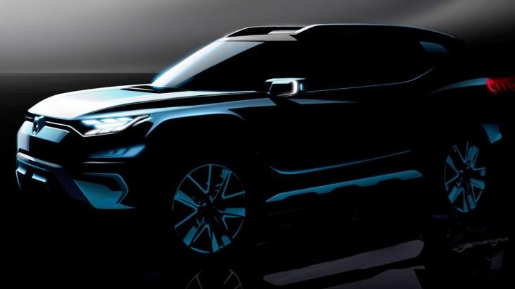 SsangYong XAVL Concept anunță noul SUV compact Korando