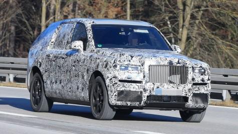 Imagini spion în premieră cu primul SUV Rolls-Royce