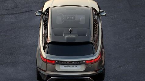Range Rover Velar: Prima imagine cu noul SUV Coupe