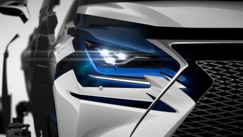 Facelift pentru Lexus NX: Primul teaser oficial