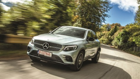 Test drive Mercedes-Benz GLC 250 d 4Matic Coupe