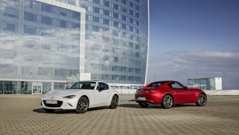 Mazda MX-5 RF a cucerit cel mai important premiu Red Dot