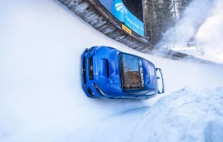 Spectacol! Cu Subaru WRX pe pârtia de bob de la St. Moritz