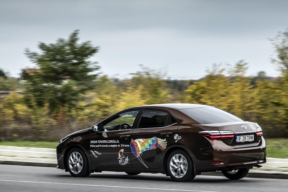 Test Toyota Corolla