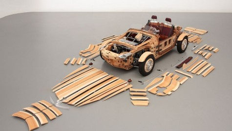 Toyota iubește lemnul