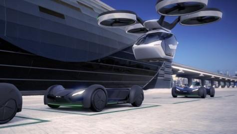 Airbus Pop.Up, mașina zburătoare: NU ai mai văzut așa ceva