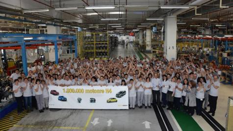 Un nou prag istoric pentru uzina Dacia de la Mioveni