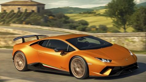 Lamborghini Huracan Performante: 640 CP și nou record pe Nurburgring