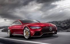 Mercedes-AMG GT Concept: Supercar hibrid cu 816 CP și 4 portiere