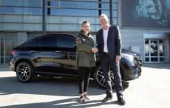 Ce mașină a primit Simona Halep, noul ambasador Mercedes în România