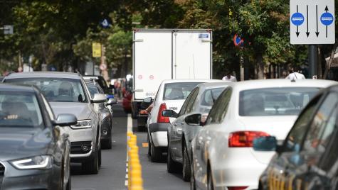 Noua taxa auto: Stickere de culori diferite, in functie de norma de poluare