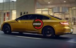VW Arteon arată senzațional în primul promo video