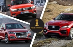 Finaliștii World Car of the Year 2017: Trei SUV-uri europene