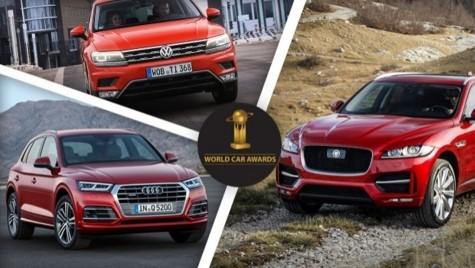 Finaliștii World Car of the Year 2017: Trei SUV-uri europene