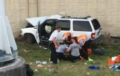 Un șofer minor rănește șapte persoane într-un accident pe autostradă