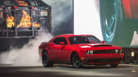 Demonul care a dat foc scenei la Salonul Auto de la New York – Dodge Challenger SRT Demon