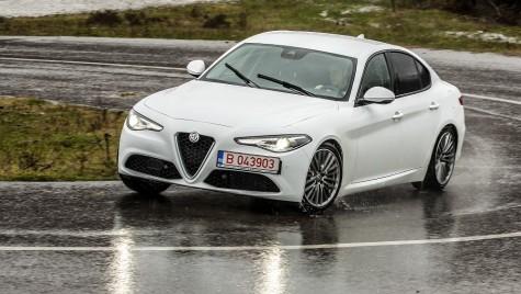 Test drive Alfa Romeo Giulia: inimă neîmblânzită