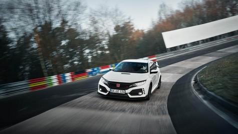 Civic Type-R, nou record pe Nürburgring Nordschleife