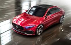 Conceptul Mercedes-Benz A-Class sedan – Viitorul sună… compact