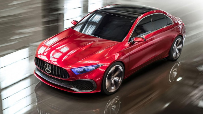 Conceptul Mercedes-Benz A-Class sedan