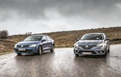 Test drive Renault Megane Sedan 1.5 dCi vs VW Jetta 2.0 TDI