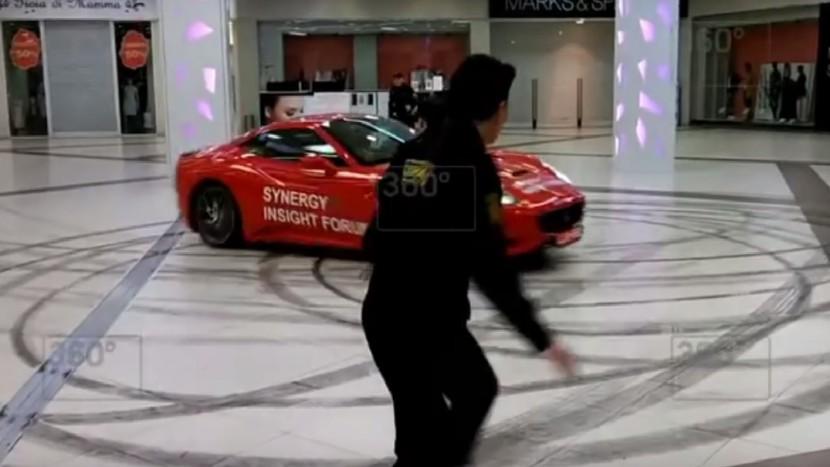 Ferrari California primar Moscova