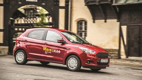 Test Ford Ka+: ka pentru toți!