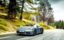 Test drive Porsche 718 Cayman S