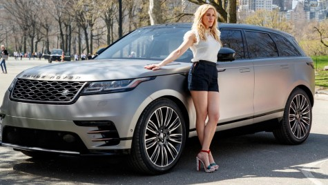 Primul Range Rover Velar din SUA ajunge pe mâinile cântăreței Ellie Goulding