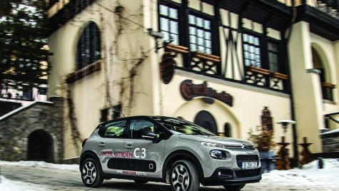 Test drive Citroen C3 Shine 1.6 BlueHDI 100