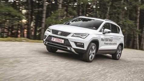 Test drive Seat Ateca Style 1.4 TSI DSG: lecția de spaniolă