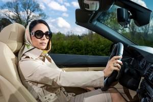Andreea Marin Shooting for Automobile Bavaria