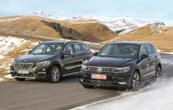 Test drive BMW X1 xDrive 18d vs VW Tiguan 2.0 TDI DSG 4Motion