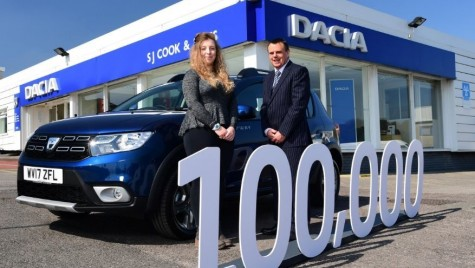 Dacia, un nou record în Marea Britanie